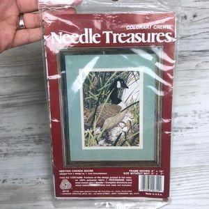 Vintage Needle Treasures Goose Embroidery Kit